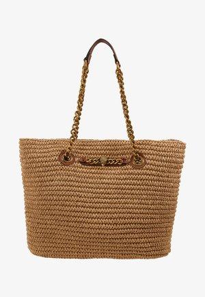 CHELSEA RAFFIA TOTE - Shopper - beige