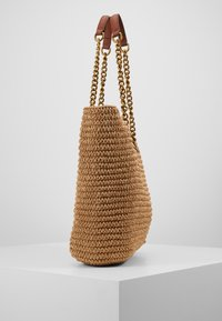 Kurt Geiger London - CHELSEA RAFFIA TOTE - Tote bag - beige - 4