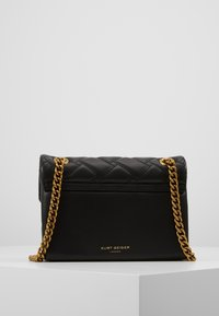 Kurt Geiger London - MINI KENSINGTON X BAG - Olkalaukku - black - 3