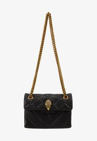 Kurt Geiger London - MINI KENSINGTON X BAG - Olkalaukku - black - 1