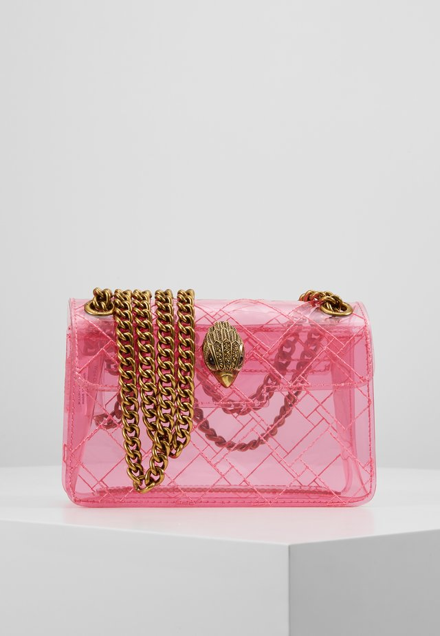 TRANSPARENT MINI KEN - Across body bag - pink