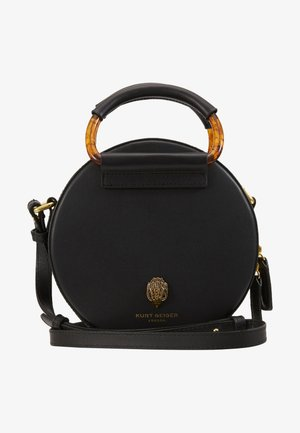 HARRIET MINI ROUND XBDY - Skulderveske - black