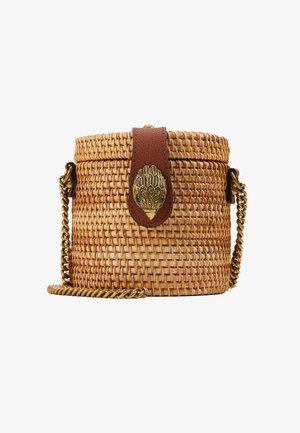 ROUND BUCKET BAG - Schoudertas - camel