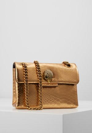 MINI KENSINGTON X BAG - Torba na ramię - gold