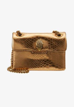 MINI KENSINGTON X BAG - Sac bandoulière - gold