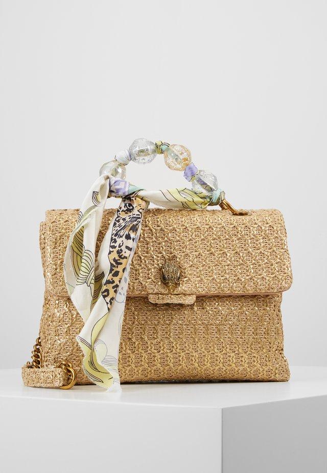 KENSINGTON RAFFIA - Handtasche - camel/oth