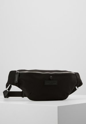 BRIXTON BELT BAG - Ledvinka - black