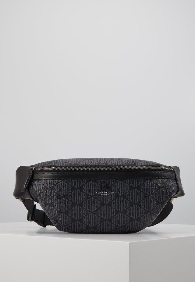 BRIXTON BELT BAG - Taška spříčným popruhem - grey