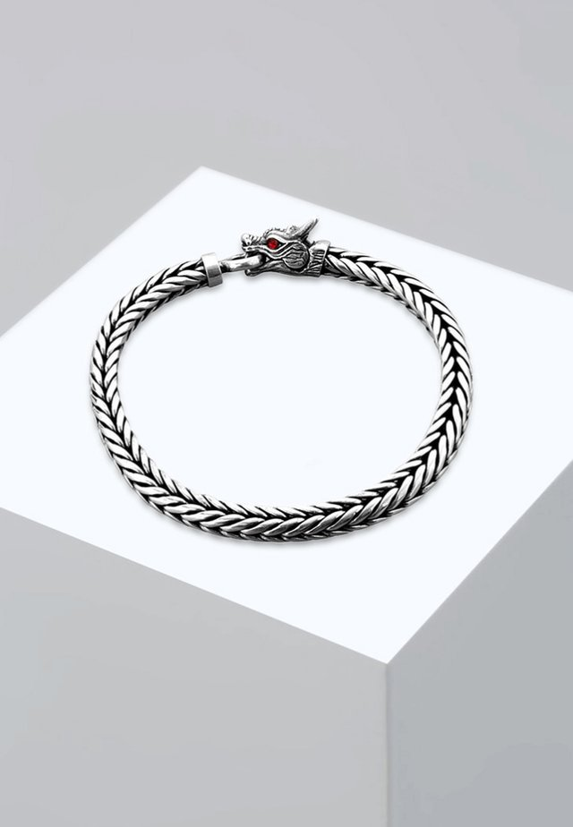 DRACHE - Bracelet - silver-coloured