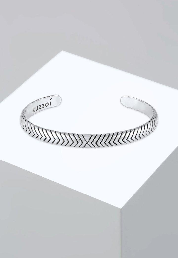 KUZZOI - Armband - silver-coloured