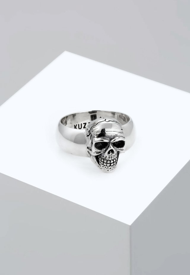 TOTENKOPF - Ring - silver-coloured
