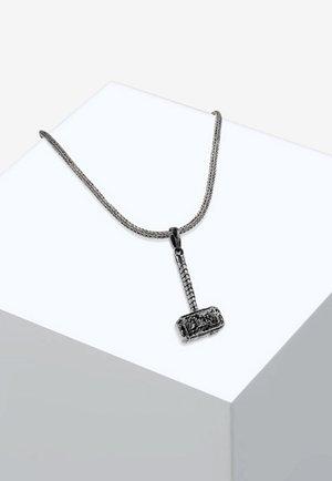 SCHLANGENKETTE HAMMER CHOKER - Halskette - silver