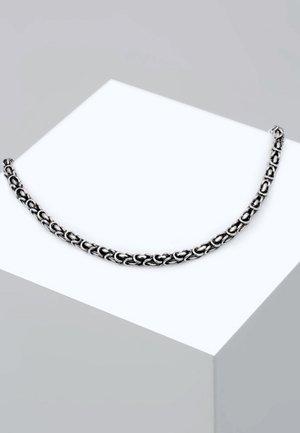 Halskette - silver coloured