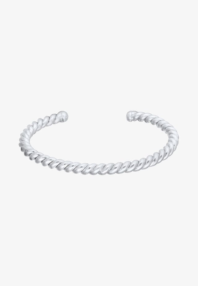 BASIC BANGLE - Bracelet - silver-coloured
