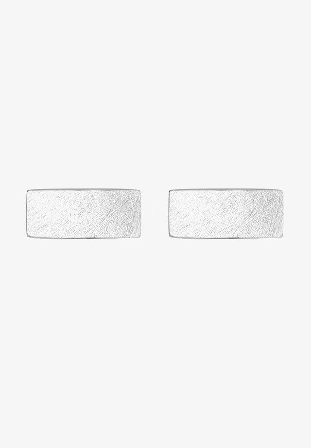 Manschettknapp - silver-coloured