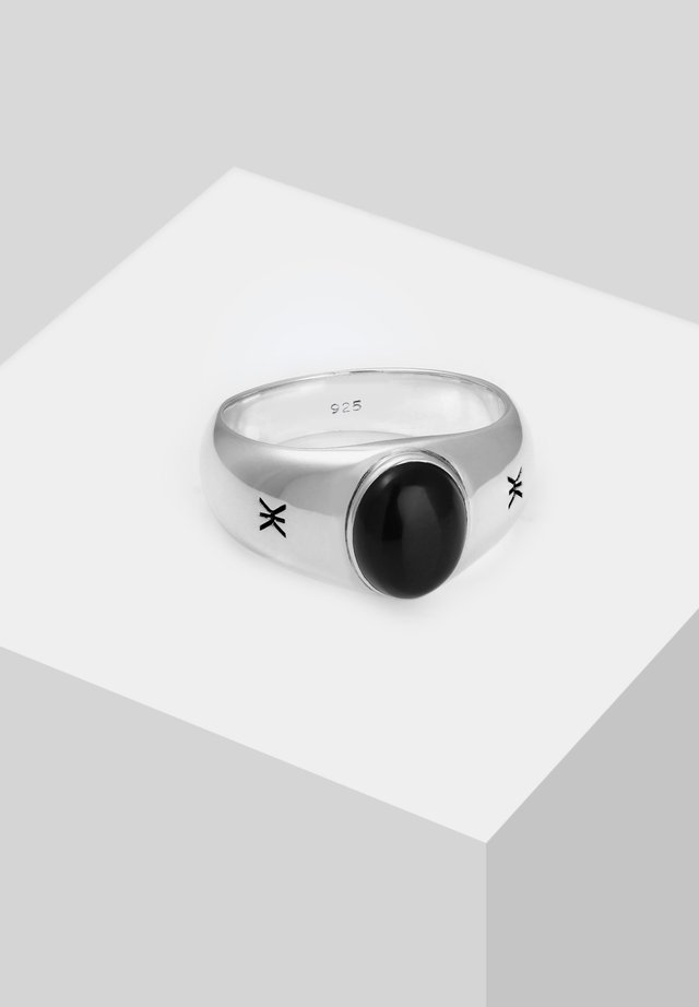 BASIC  - Ring - silver-coloured