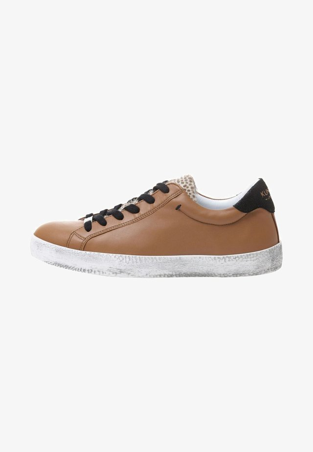 REVERSED CHEETAH - Sneakers laag - brown