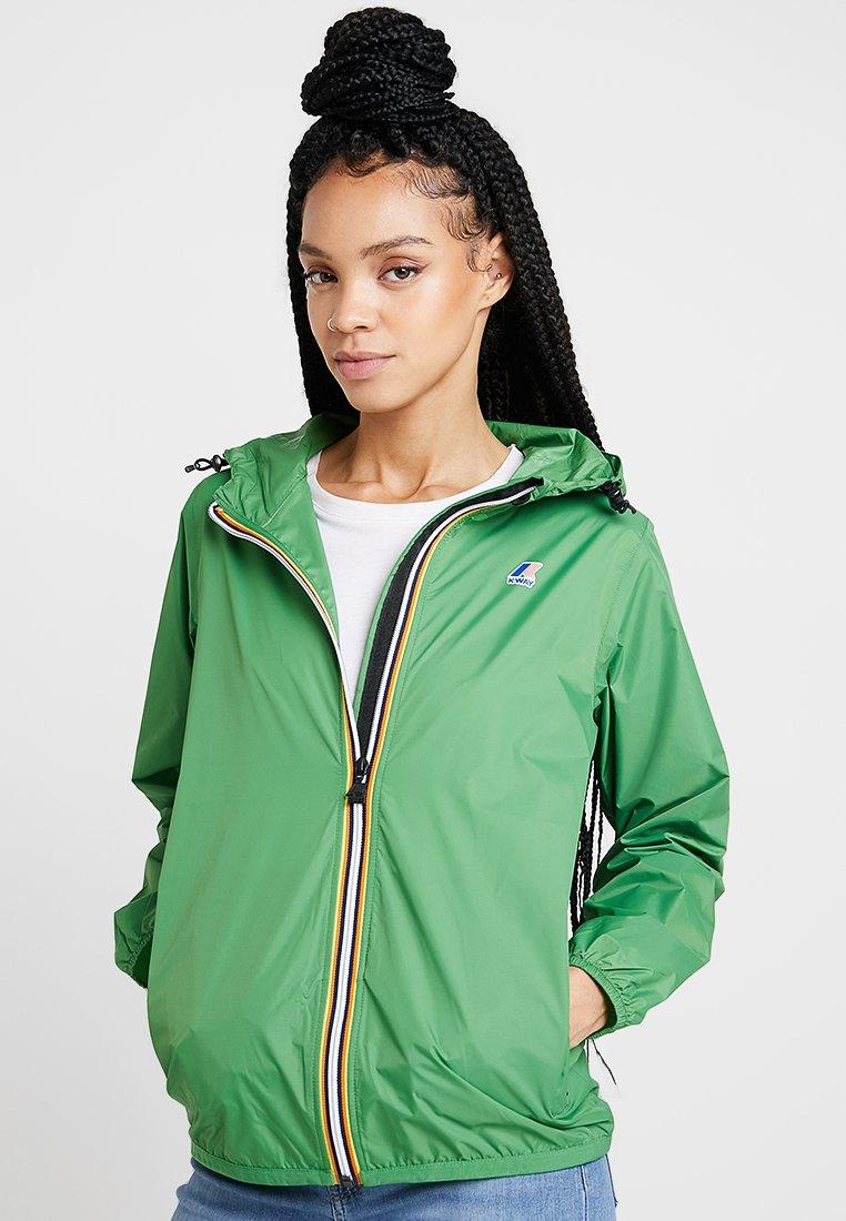 K-Way - LE VRAI CLAUDETTE - Waterproof jacket - green