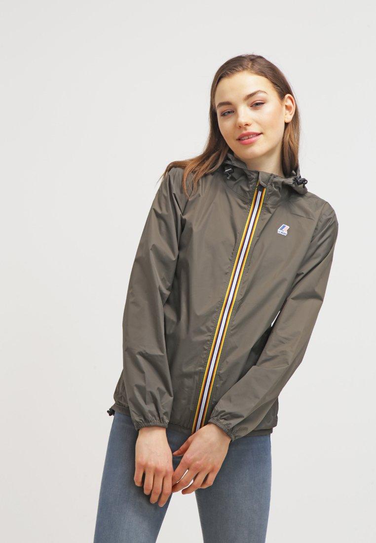 K-Way - LE VRAI CLAUDETTE - Waterproof jacket - khaki