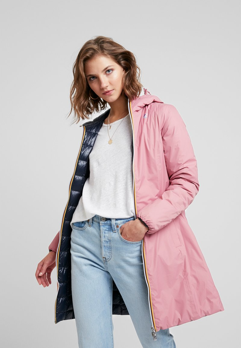 K-Way - CHARLENE THERMO PLUS DOUBLE - Down coat - pink/blue