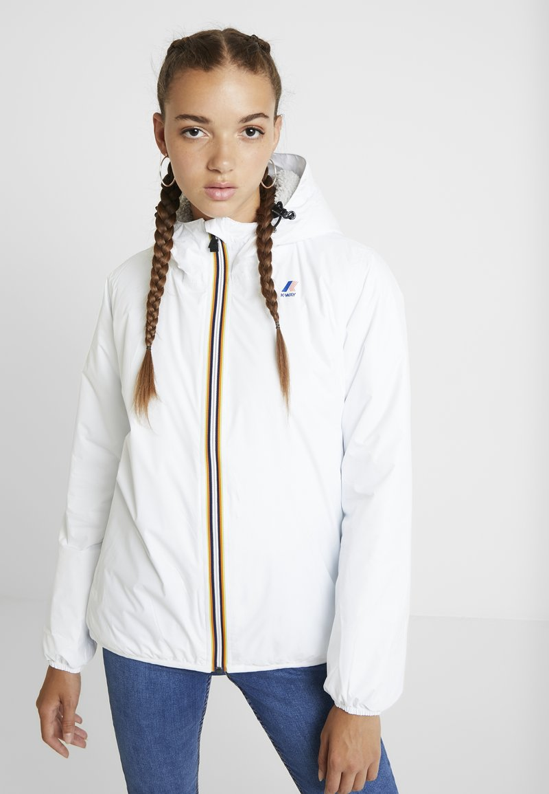K-Way - LE VRAI CLAUDETTE ORSETTO - Outdoorjacke - white
