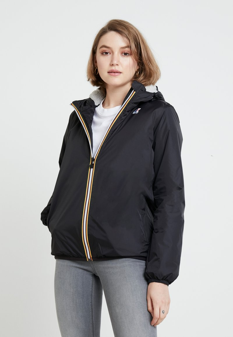 K-Way - LE VRAI CLAUDETTE ORSETTO - Outdoor jacket - black