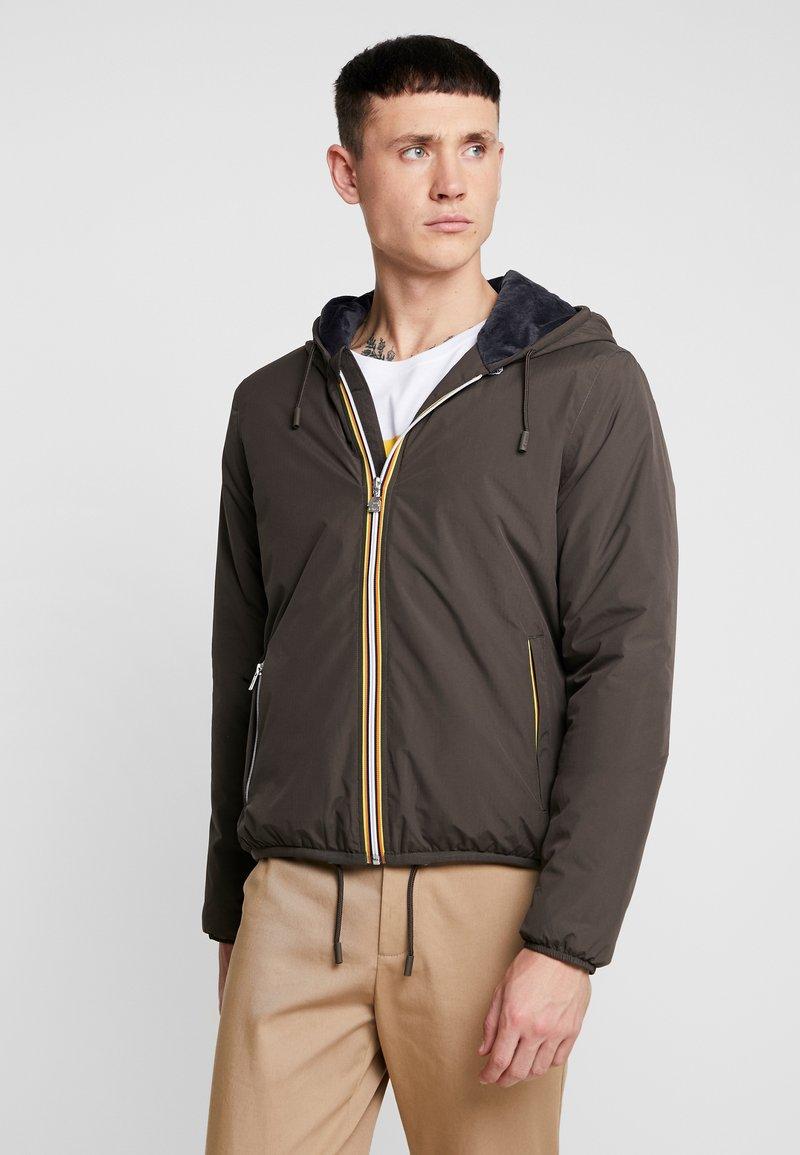 K-Way - JAQUES RIPSTOP MARMOT - Light jacket - dark brown