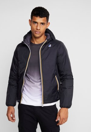 JACQUES THERMO PLUS DOUBLE - Down jacket - black/grey