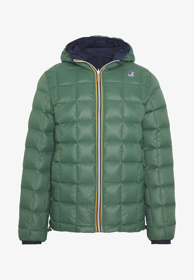 JAQUES THERMO PLUS DOUBLE - Winterjacke - blue maritime/green dark forest