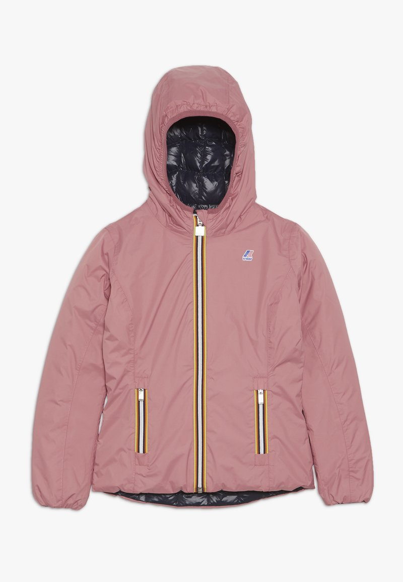 K-Way - THERMO PLUS DOUBLE - Down jacket - pink/blue