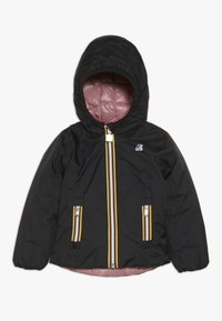 K-Way - THERMO PLUS DOUBLE - Down jacket - black/pink dusty - 0