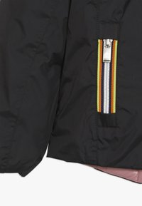 K-Way - THERMO PLUS DOUBLE - Down jacket - black/pink dusty - 3