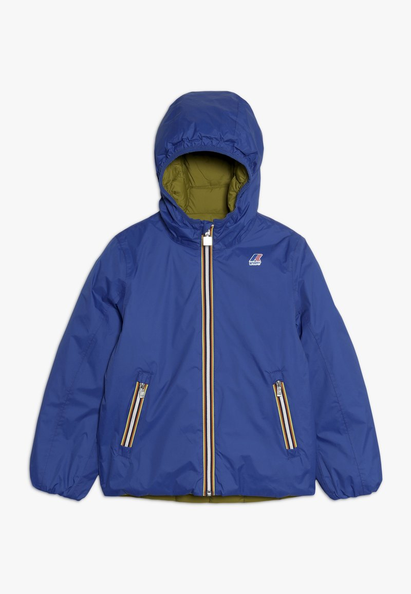 K-Way - JACQUES THERMO PLUS DOUBLE  - Down jacket - blue/green