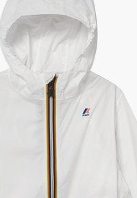K-Way - LE VRAI CLAUDE - Waterproof jacket - white - 4