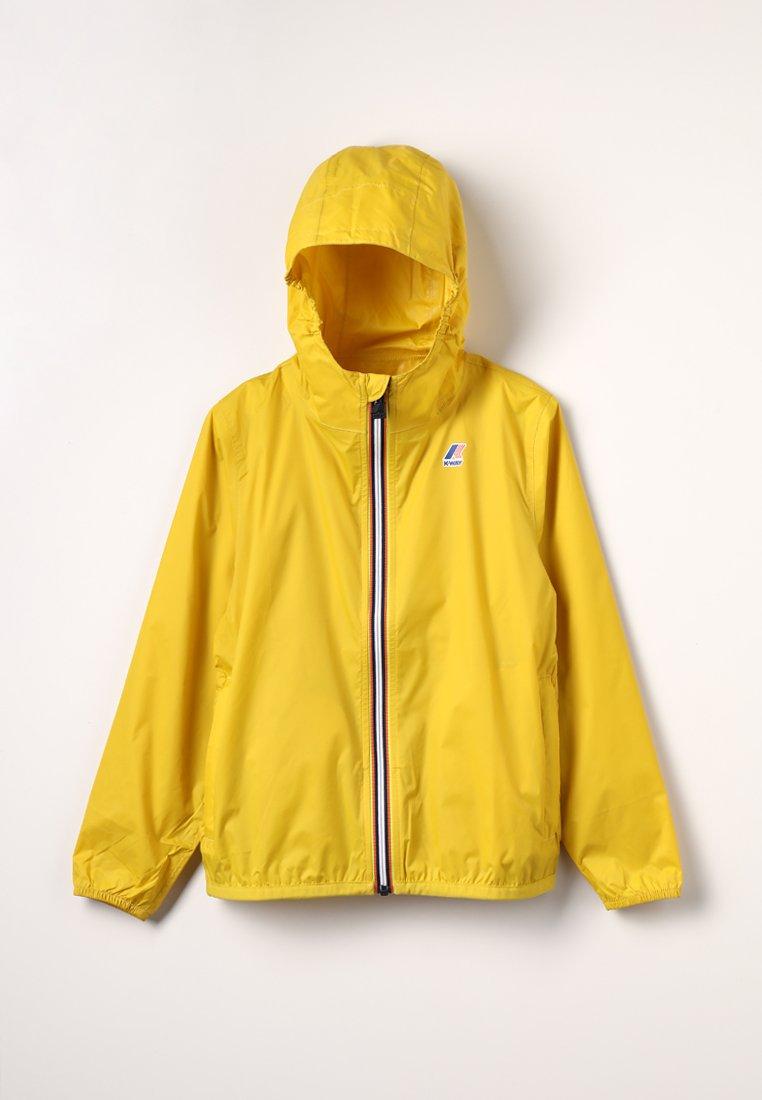 K-Way - LE VRAI 3.0 CLAUDE - Waterproof jacket - yellow mustard