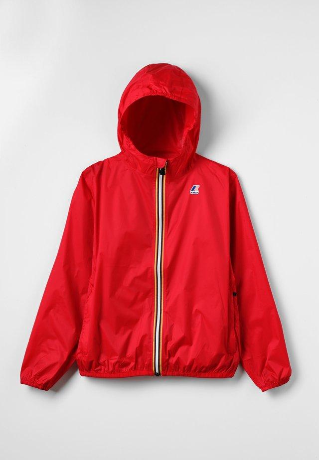 LE VRAI CLAUDE - Vodotěsná bunda - red