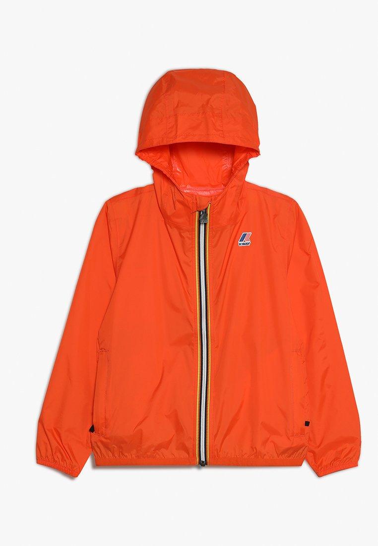 K-Way - LE VRAI 3.0 CLAUDE - Waterproof jacket - orange flame