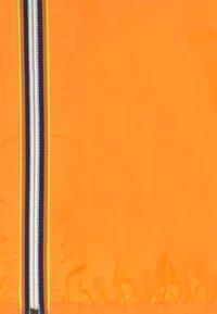 K-Way - LE VRAI CLAUDE - Waterproof jacket - orange - 4