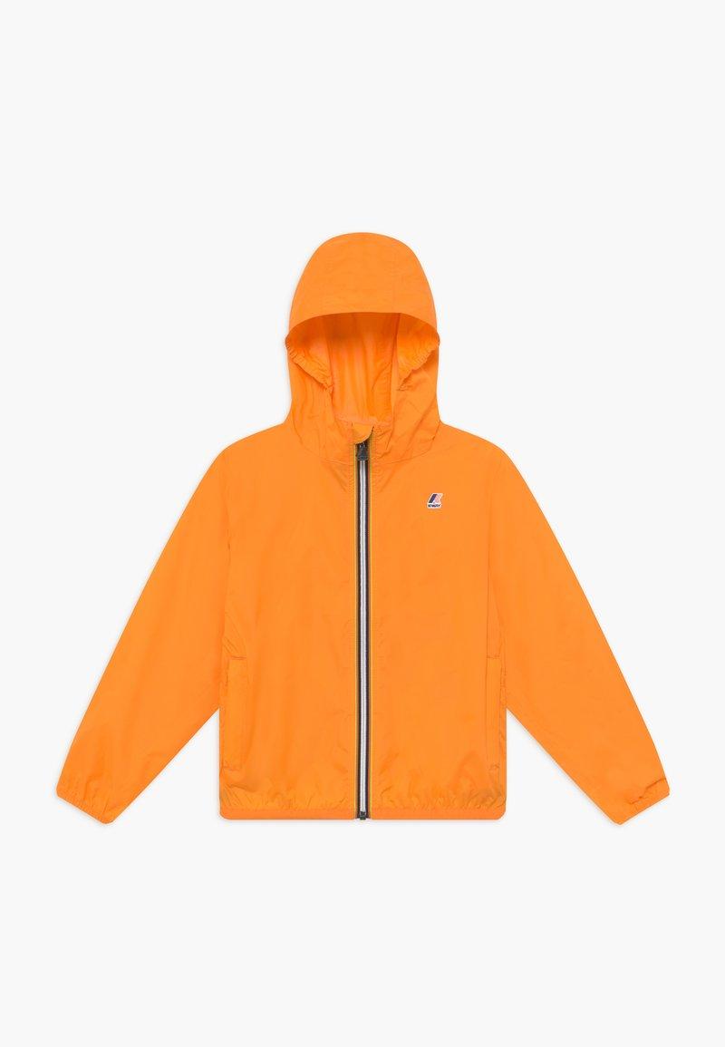 K-Way - LE VRAI CLAUDE - Waterproof jacket - orange