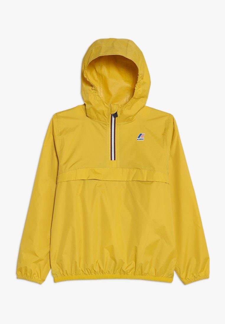 K-Way - LEON LE VRAI 3.0 - Waterproof jacket - yellow mustard