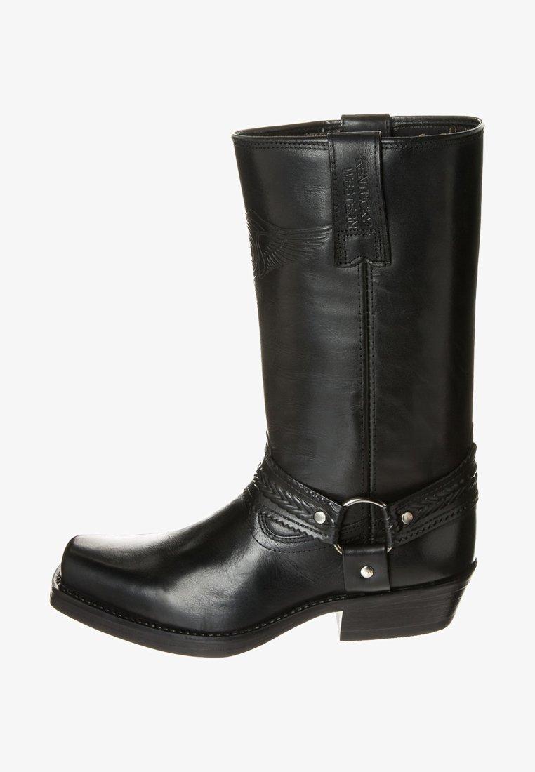 Kentucky's Western - Cowboy/Biker boots - black