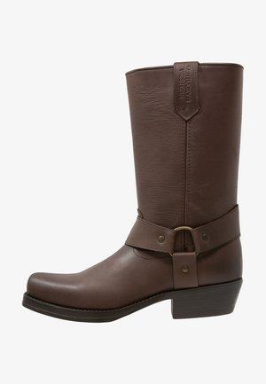 Kovbojské/motorkářské boty - marron