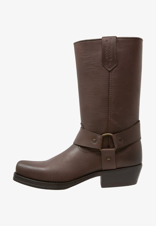 Cowboy-/Bikerboot - marron