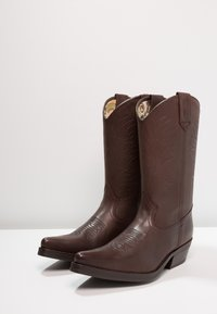 Kentucky's Western - Cowboy/Biker boots - sauvage/chocolate - 2