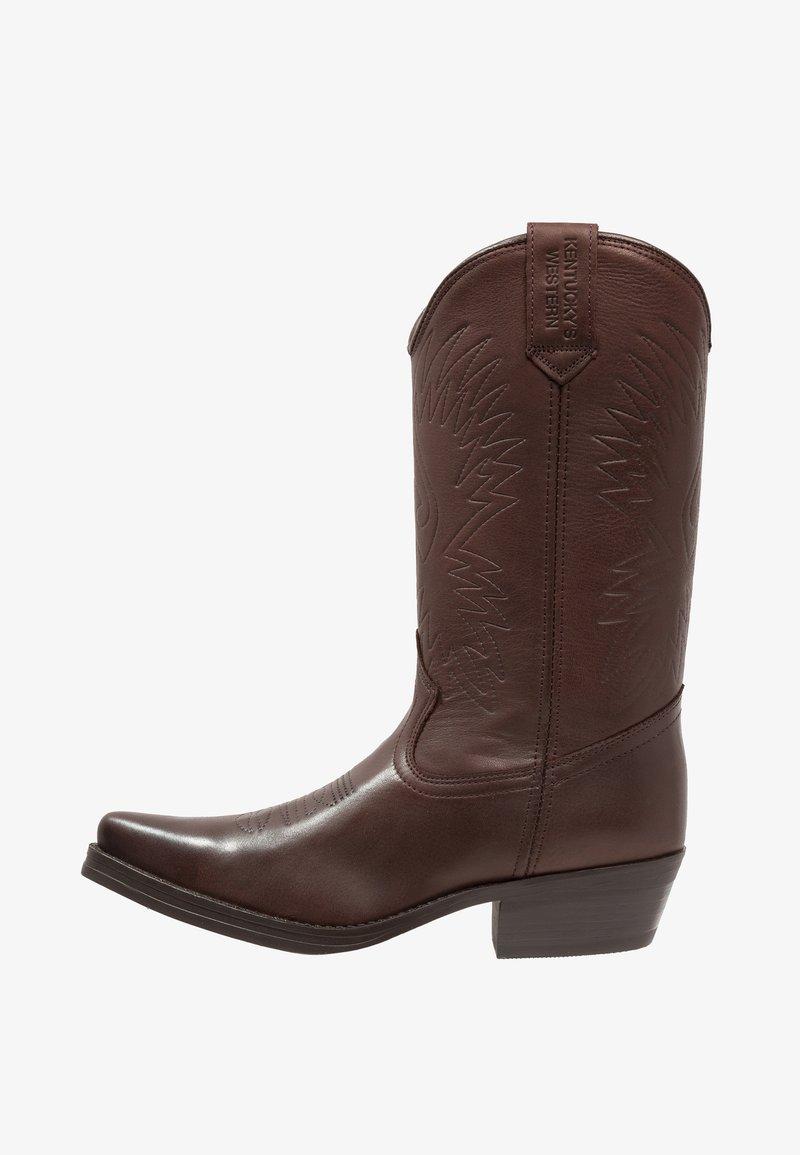Kentucky's Western - Cowboy/Biker boots - sauvage/chocolate