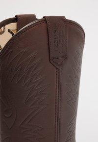Kentucky's Western - Cowboy/Biker boots - sauvage/chocolate - 5