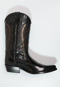 Kentucky's Western - Cowboy/Biker boots - antik schwarz - 1