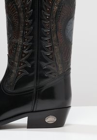 Kentucky's Western - Kowbojki i obuwie motocyklowe - antik schwarz - 5