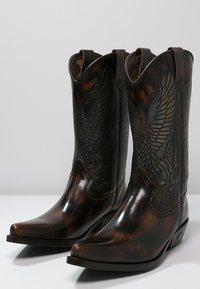 Kentucky's Western - Kovbojské/motorkářské boty - marron - 2