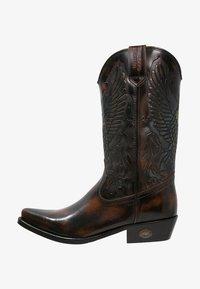 Kentucky's Western - Kovbojské/motorkářské boty - marron - 0